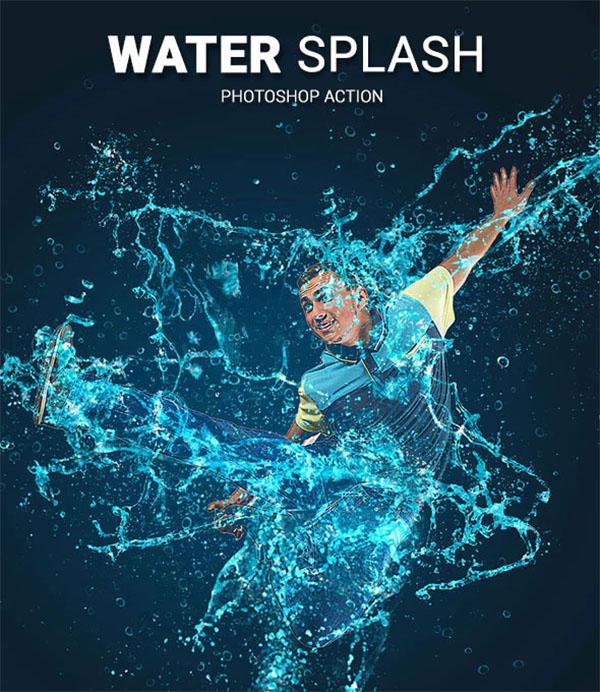 Water Splash Photoshop ATN Action