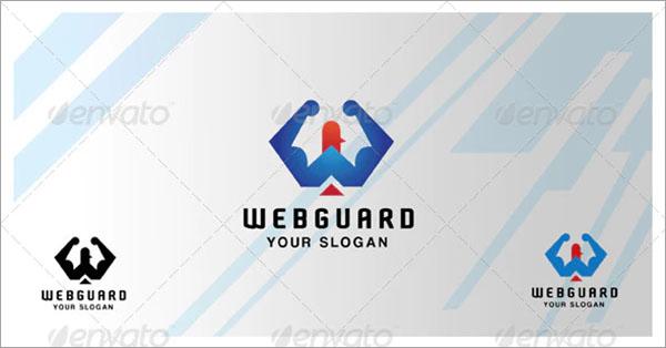 Web guard Logo Design