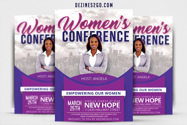 Women's Party Flyer Template