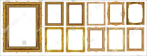 Vintage Frames and Borders Set