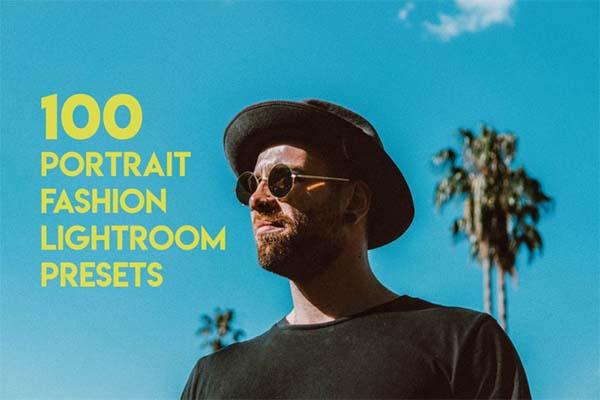 100 Portrait Fashion Lightroom Presets Files
