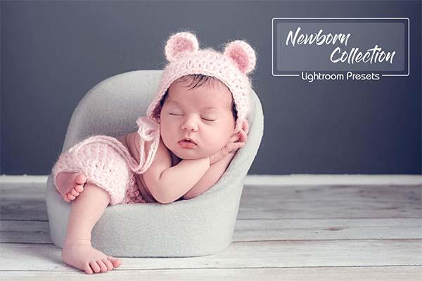 25 Newborn Lightroom Presets
