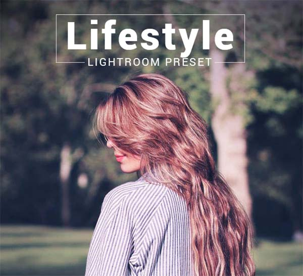 Adobe Lifestyle Lightroom Preset