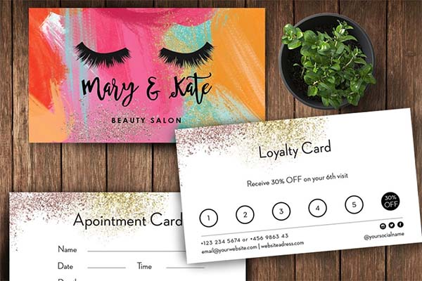 Appointment & Loyalty Card