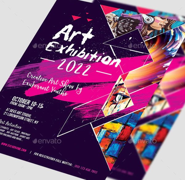 Art Event Flyer Printable Templates
