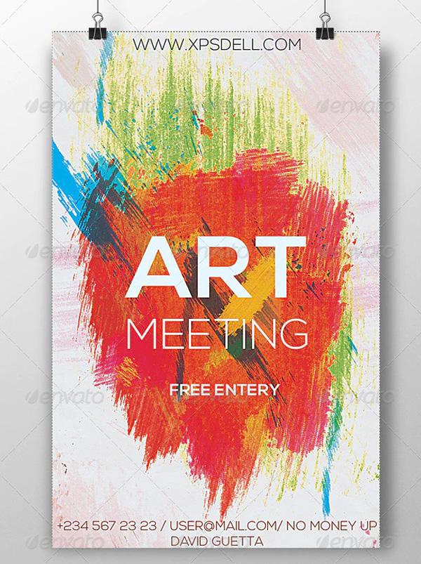 Art Flyer Templates