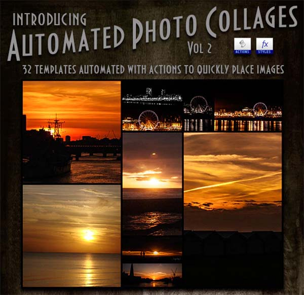 Automated Photo Collages Action