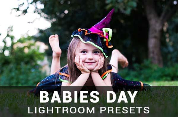 Babies Day Lightroom Presets