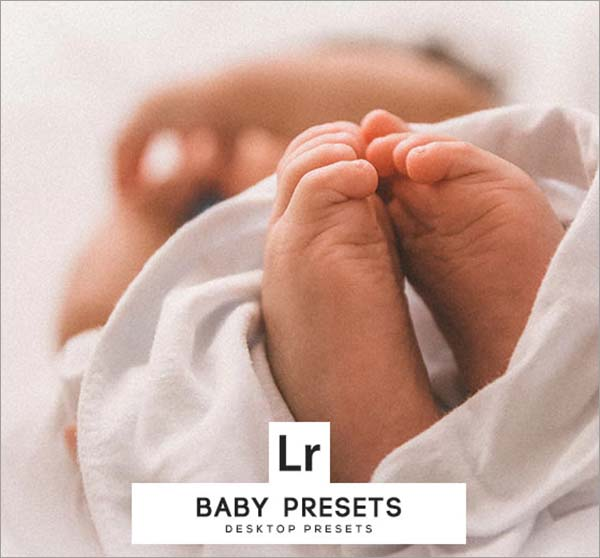 Baby PSD, TIF Lightroom Presets