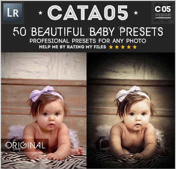 Beautiful Baby PSD Lightroom Presets