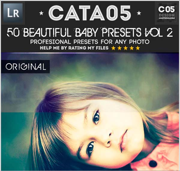 Beautiful Baby Lightroom Presets PSD File