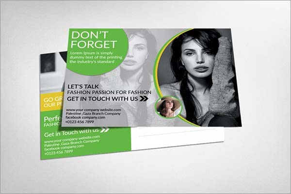 Beauty Fashion Loyalty Card