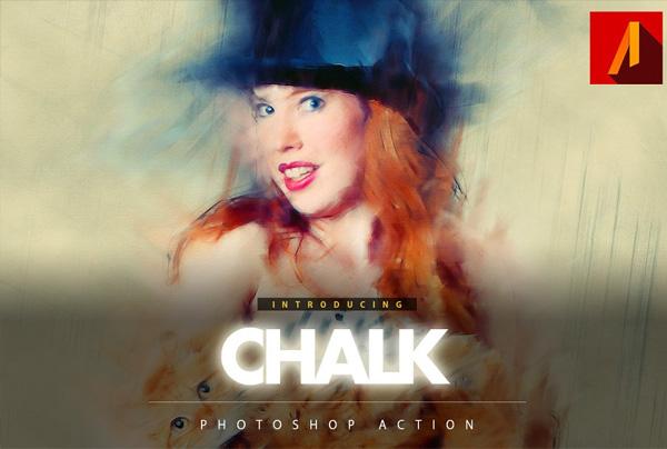 Best Chalk Photoshop Action