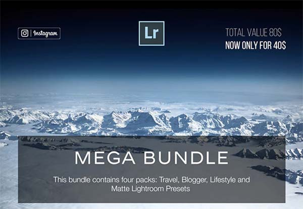 Bundle PSD Lightroom Preset