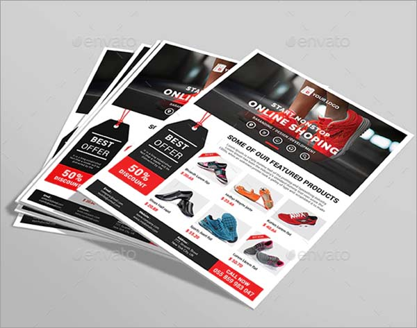 Business Product Flyer Template