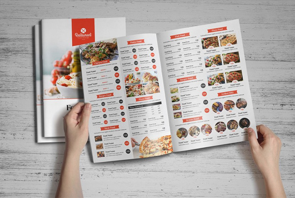 Cafe Brochure Editable Template