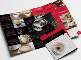 Cafe Brochure Templates