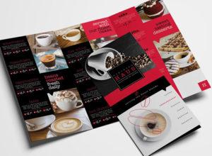 Cafe Brochure Templates