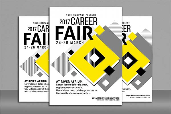 Career Fair Flyer and Poster