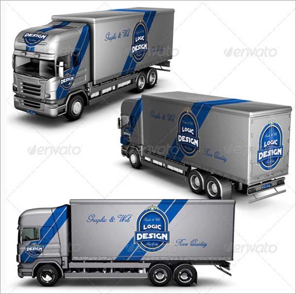 Cargo Truck Mock Up