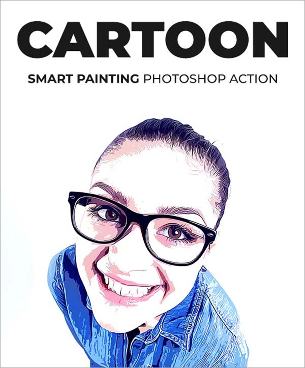 Cartoon Smart Painting Photoshop Action