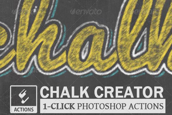 Chalk and Chalkboard Photoshop Creator