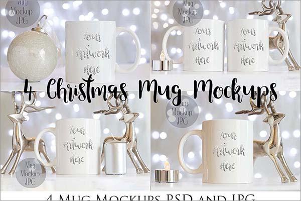 Christmas Mug Mockups