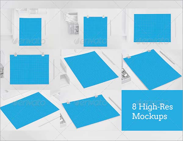 Clean & Contemporary Paper Mockups Template