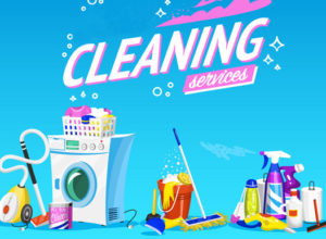 Cleaning Service Banner Templates
