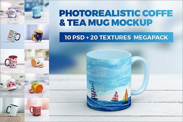 Coffee Mug MockUp MegaPack