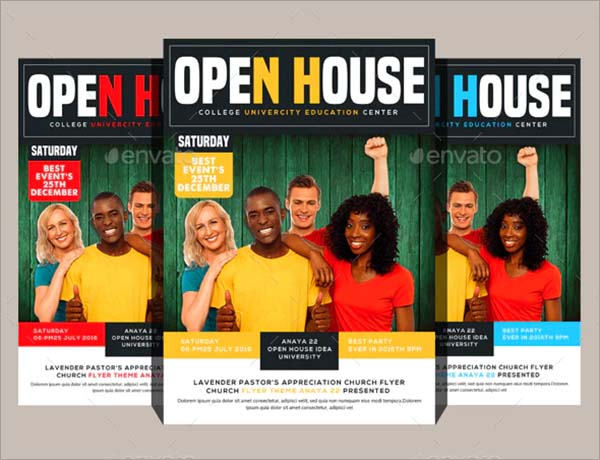 College Fair Flyer PSD Templates
