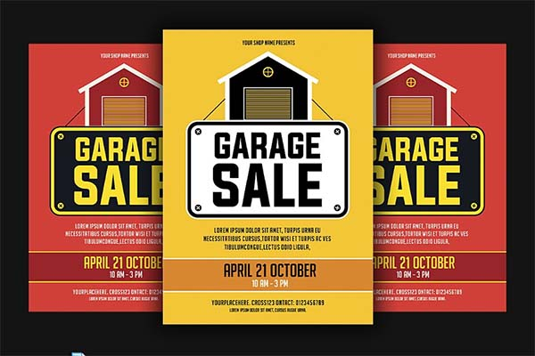 Commercial Garage Sale Flyer