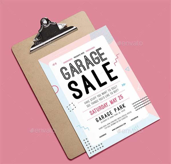 Creative Garage Sale Flyer