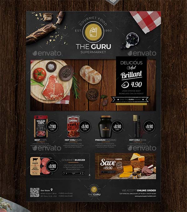 Creative Product Flyer Template