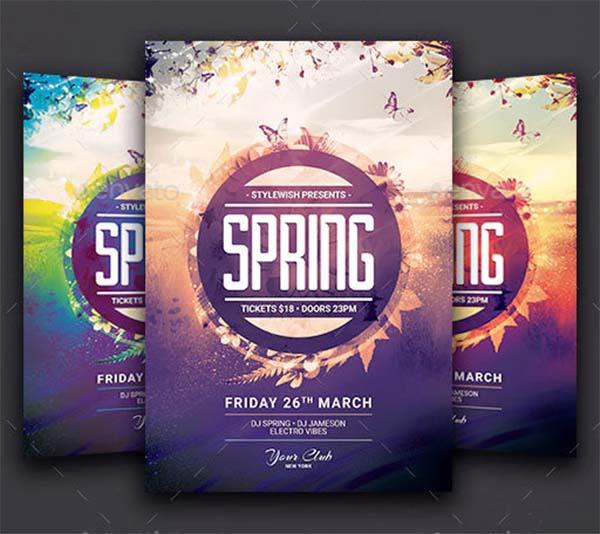 Creative Spring Flyer