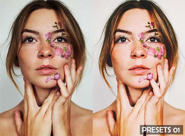 DNG, TIFF, PSD, Portrait Lightroom Presets