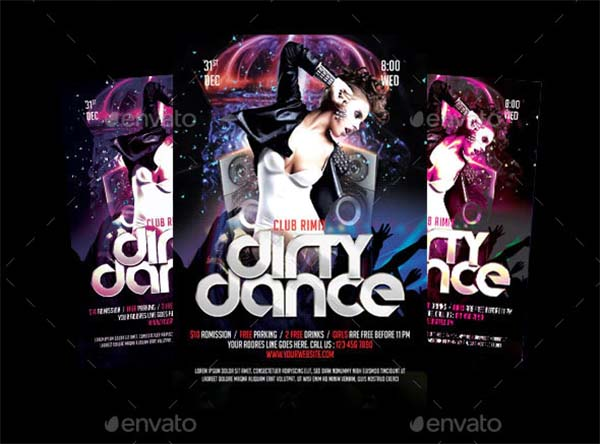 Dirty Dance Party Flyer Template
