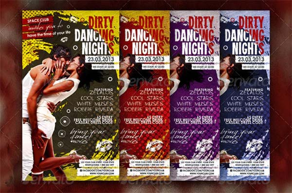 Dirty Dancing Nights Posters and Flyers