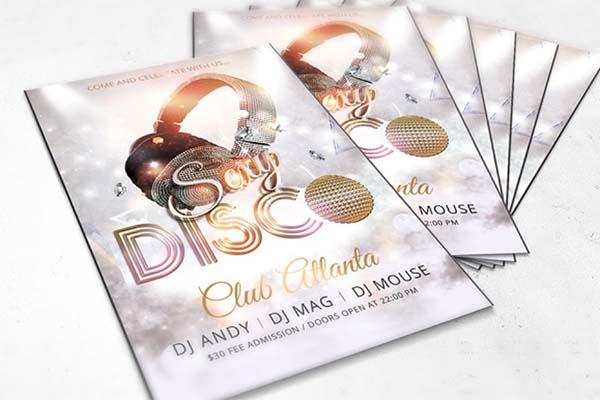 Disco Dance Party Flyer