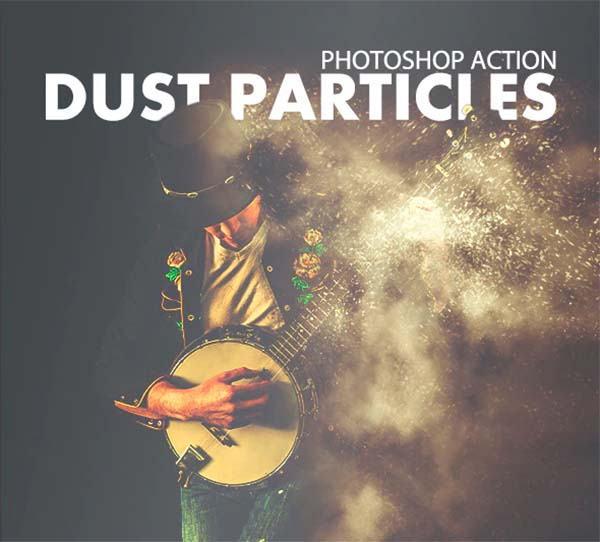 Dust Particles Photoshop Action