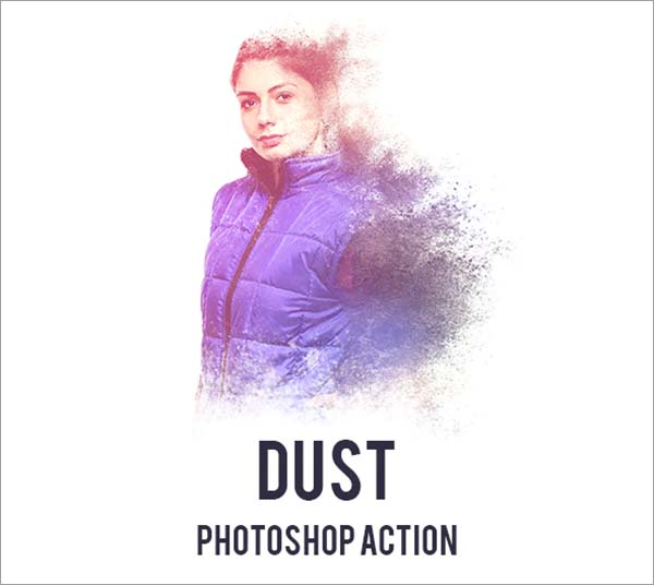 Dust Photoshop, ATN, PAT Action