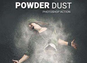 Dust Photoshop Actions
