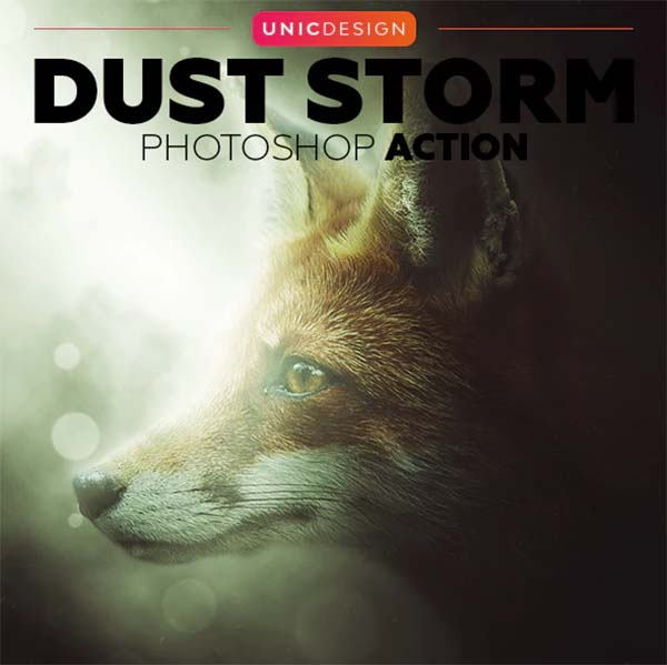 Dust Storm Photoshop Actions