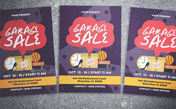 Festival Garage Sale Flyer