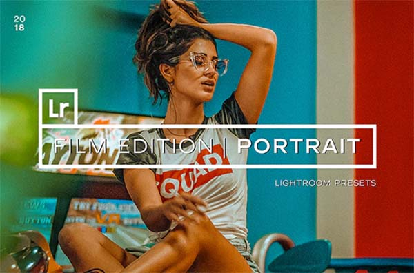 Film Portrait Lightroom Presets Photoshop File