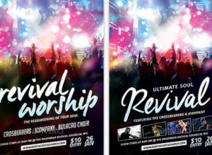 Free Revival Flyer Templates