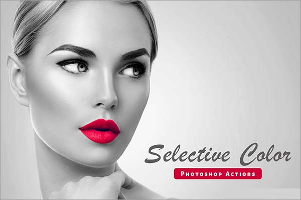 Free Selective Color Photoshop Actions