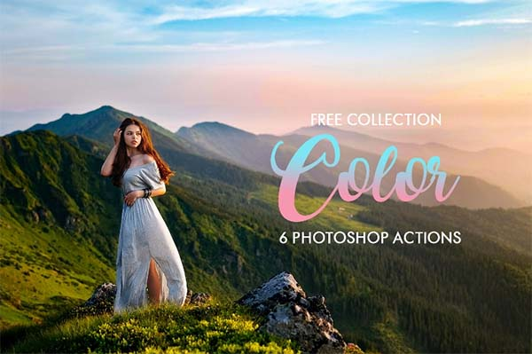 Free Selective Photoshop Color Actions