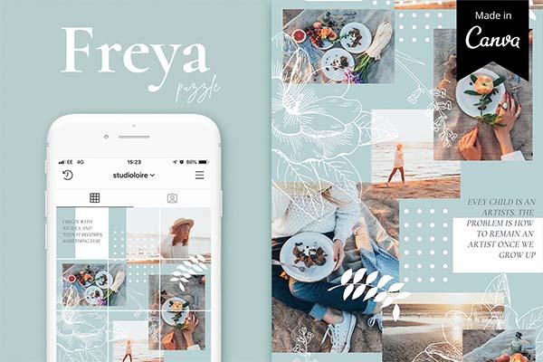 Freya Canva Instagram Puzzle