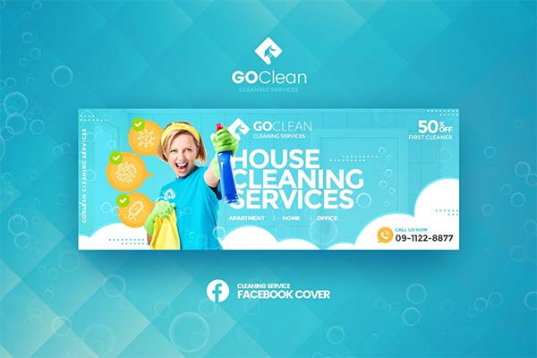 GoClean-Cleaning Service FB Cover